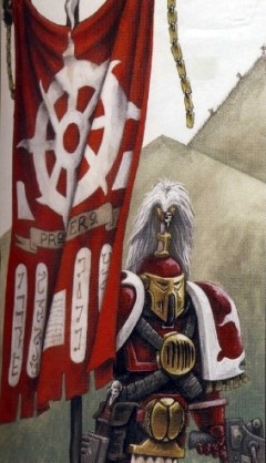 Amsu Portaestandarte Legión Mil Hijos