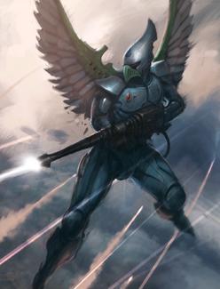 Halcones Cazadores Eldars 6ª Edición ilustración