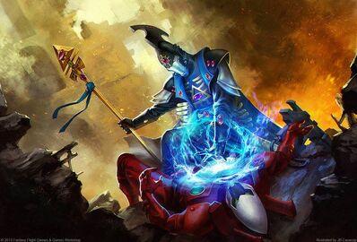 Eldar brujo ritual joya espiritual
