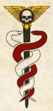 Simbolo del officio medicae