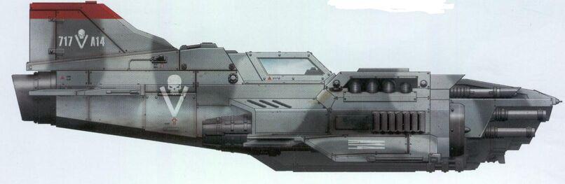 Thunderbolt 717 Ala de Cazas Camuflaje Asedio de Vraks Aeronaves Armada Imperial Wikihammer