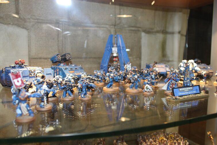 Warhammer World Nottingham Wikihammer Ultramarines 1