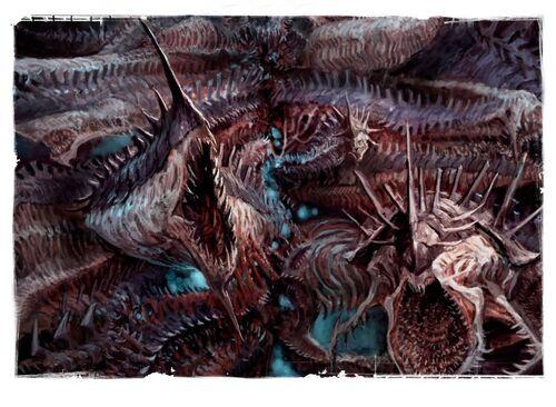 Disformidad tiburones del empireo