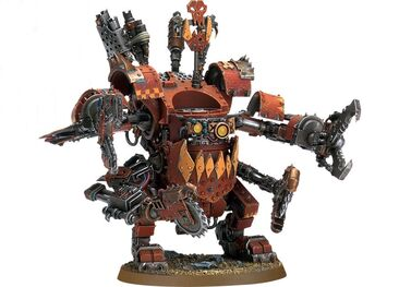 Dreadnought orko miniatura