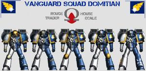 Escuadra de Vanguardia Marines Errantes Wikihammer