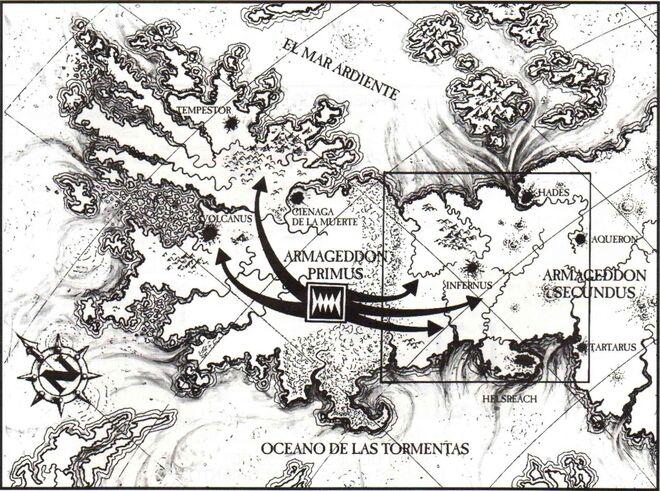 Mapa Armageddon Segunda Ghazghkull Warhammer 40k Wikihammer