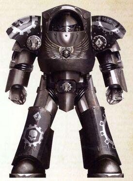 Marines manos de hierro exterminador modelo tartaros clan avernii