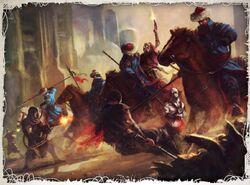 GI rough riders attila carga de jinetes wikihammer