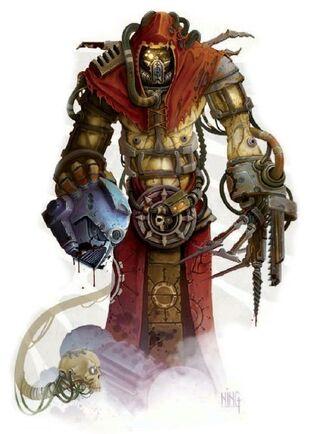 Mechanicus magos biologis corrupto phayzarus