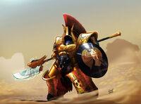 Minotauro Asterion Moloc Señor del capítulo