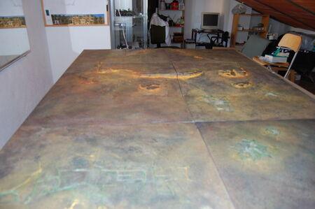 Pintura tablero modular 18