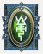 Simbolo eldar runa serpiente
