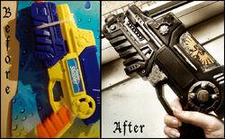 Cosplay pistola bólter