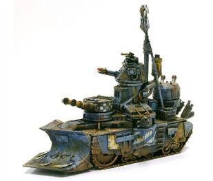 Miniatura mega-tanke orko wikihammer