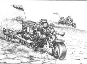 Motoriztaz Orkos Paul Bonner 1ª Edición ilustración