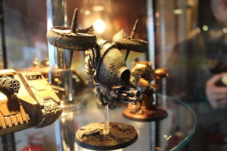 Warhammer World Nottingham Wikihammer drone plaga