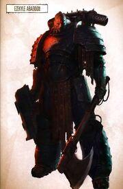 Ezekyle Abaddon antes de fundar la Legión Negra