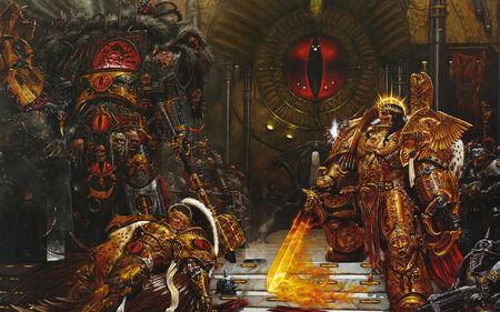 Horus Vs. Emperor