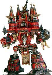 Miniatura titan imperator legio metalica