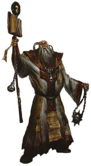 Archiexorcista Adeptus Ministorum Eclasiarquía Wikihammer