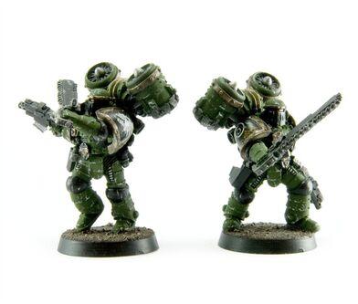 Pre herejia marines asalto MKII salamandras