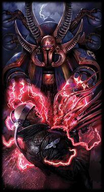 Sorcerer of Tzeentch Ahriman Mil Hijos Hechicero Warhammer 40k Wikihammer Caos