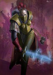 Pre herejia hermana del silencio espada