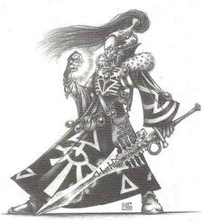 Brujo Eldar 2ª Edición Mark Gibbons ilustración