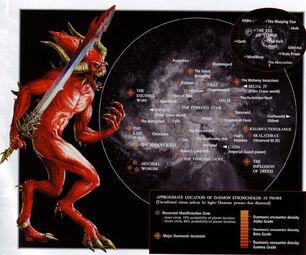 Mapa galaxia fortalezas demoníacas
