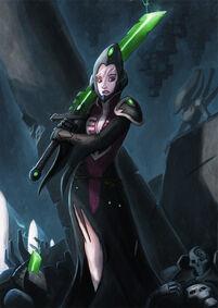 Vidente de guerra y espada bruja