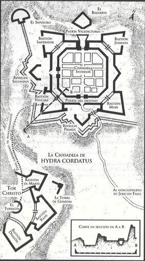 Fortaleza Hydra Cordatus Tormenta Hierro Warhammer 40k wikihammer