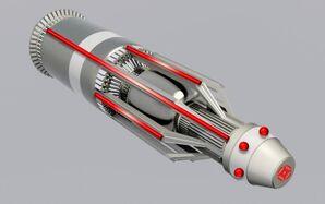 Torpedo Bohrerflamme AA-40