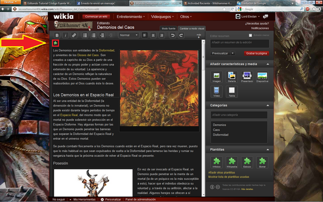 Tutorial Plantillas Wikia 3