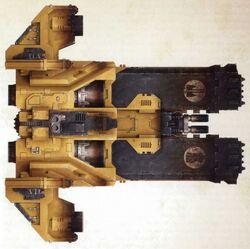 Vehiculos ariete de asalto caestus puños imperiales 01