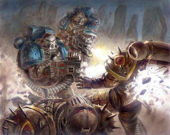 Caos devoradores de mundos vs hijos de horus