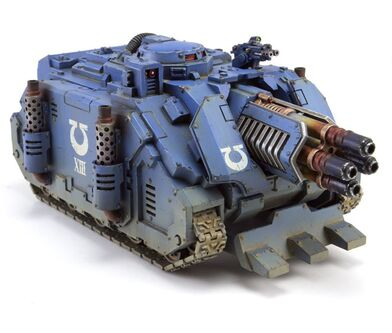 Vindicator Deimos Destructor Láser Ultramarines