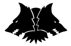 Emblema Morkai Lobos Espaciales Fenris Wikihammer