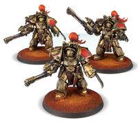 Exterminadores Aquilon pica Infernus Legio Custodes Forge World miniaturas