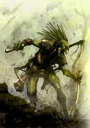 Kroot Warrior Colored by MajesticChicken