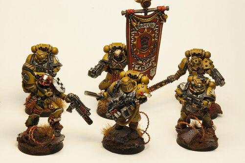 Tácticos Veteranos Legión Puños Imperiales
