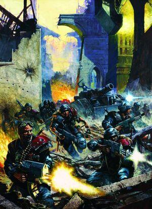 Guardia Imperial combate urbano
