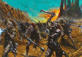 Kroots al ataque Wikihammer 40K