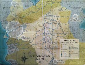 Rynn Mapa Sorocco Wikihammer 40k
