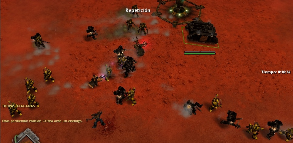15 Los Templarios luchan por sus vidas acorralados.