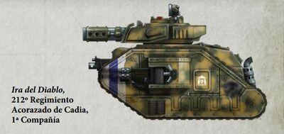 Guardia Imperial tanque leman russ eradicator cadia