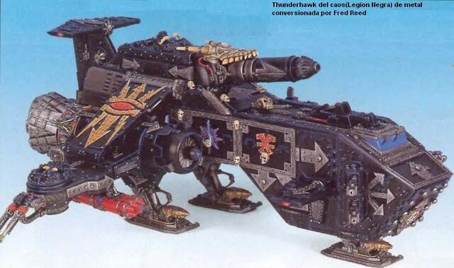 Archivo:Miniatura Caos thunderhawk.jpg
