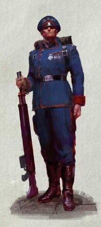 Soldado de Mordia