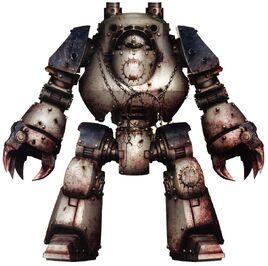 Styvath el Berserker Dreadnought Contemptor Devoradores de Mundos