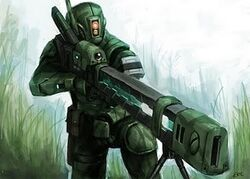 Tau pathfinder w railgun