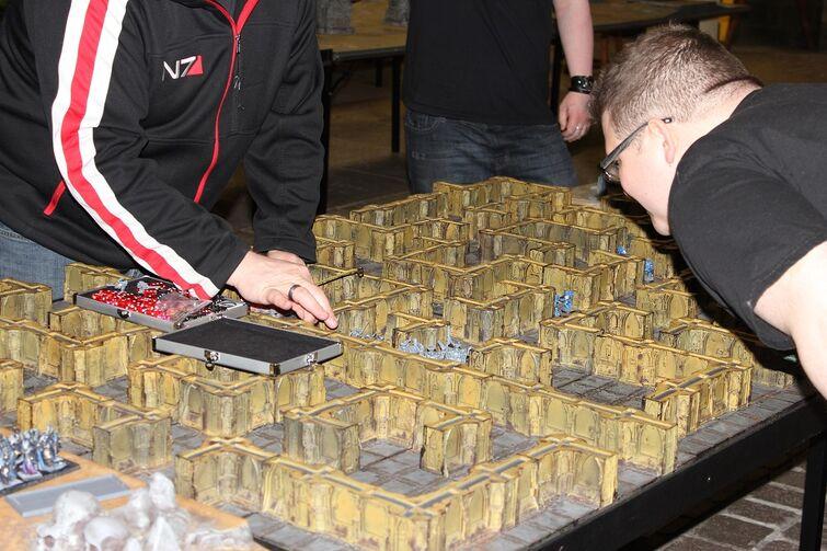 Warhammer World Nottingham Wikihammer Escenografía 2
